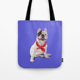 Frenchie (Colour) Tote Bag