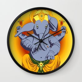Max Ganesha Wall Clock
