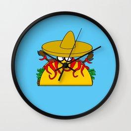 Tako Tuesday Wall Clock