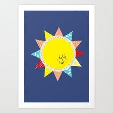 In the sun Art Print