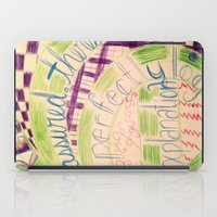 gravity falls iPad Cases featuring Gravity Falls Quote by writingoverashes