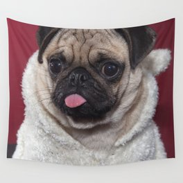 Frank the Pug Wall Tapestry