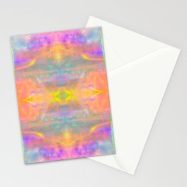 Prisms Play of Light 2 Mandala Stationery Cards
