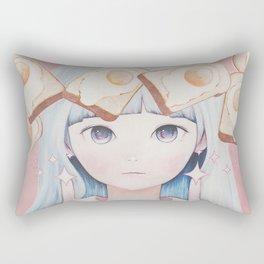 Awww Flying Breakfast 1.1 Rectangular Pillow