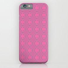 Dragonfruit Pink Circles Slim Case iPhone 6s