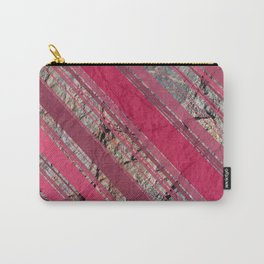 Pink  & Rock Carry-All Pouch