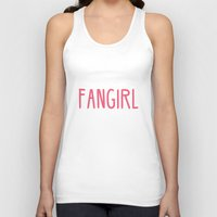 fangirl Tank Tops featuring Professional Fangirl  by Whispering Words