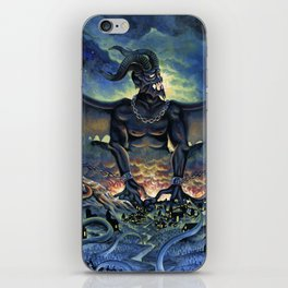 Typhon Monster iPhone Skin