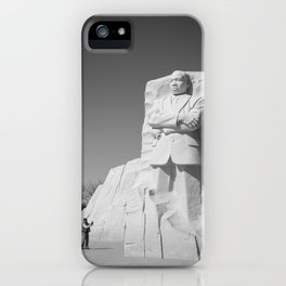 Martin Luther King memorial Washington D.C. iPhone Case