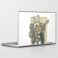 banjo Laptop & iPad Skins featuring Banjo Lion by Felis Simha