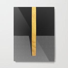 Conceptual and golden II Metal Print