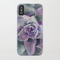 succulents iPhone & iPod Cases featuring Succulents by Klara Acel