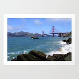 Tide's Been a Turning Art Print