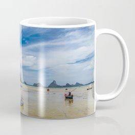 Fishing Boats Thailand Coffee Mug