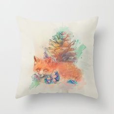 Unwrapped Throw Pillow