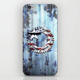 blue steel USA iPhone Skin