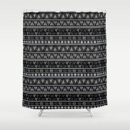 Bohemian Mud cloth Shower Curtain