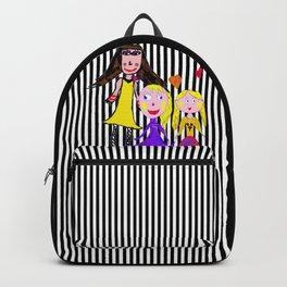 Girls by Elisavet   Friends #society6 Backpack
