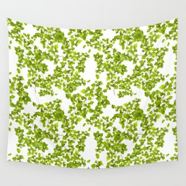 Green Leaf Art Wall Tapestry
