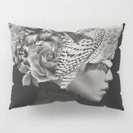 Lady with Birds(portrait) Pillow Sham