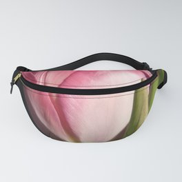 flowers of spring on black -4- Fanny Pack