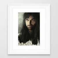 kili Framed Art Prints featuring Kili by Alba Palacio