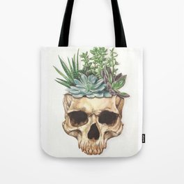 From Death Grows Life Tote Bag