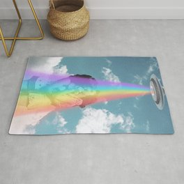 Love is love is love - Pride & UFOs Rug