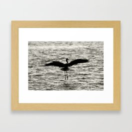 Landing Gear Framed Art Print