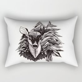 Spirit Deer Rectangular Pillow