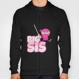 Big Sis Ninja - Big Sister Funny Siblings Gift Idea Hoody