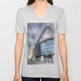 Wembley stadium London Unisex V-Neck