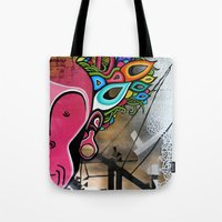 creativity Tote Bags featuring Creativity by Connor Beale