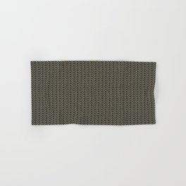 Faux Chainmail over Canvas Hand & Bath Towel