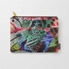 Leopard triangles Carry-All Pouch