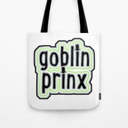 Goblin Prinx in Agender Flag Tote Bag