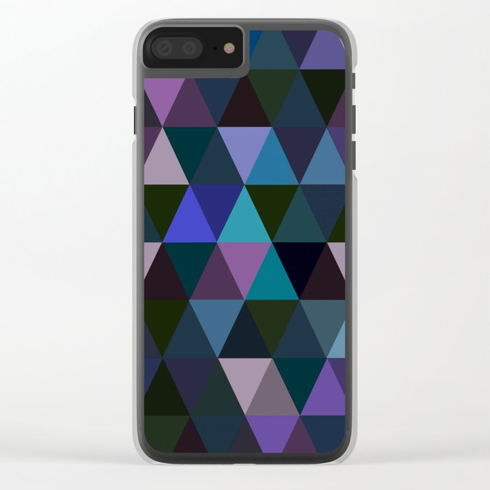 Abstract #293 Clear iPhone Case