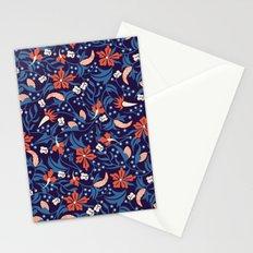 Moonlit Jungle Floral Stationery Cards