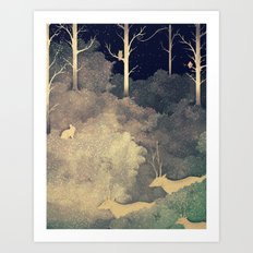 Winter Song Art Print