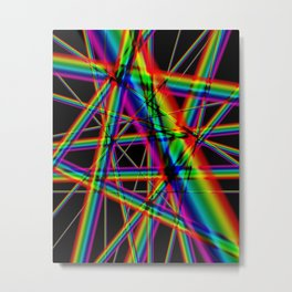 Rainbows Forever Metal Print