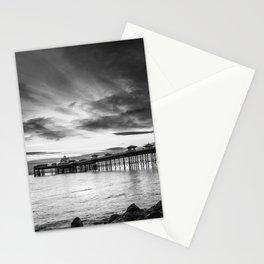 Monochrome Pier Stationery Cards