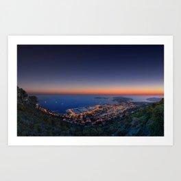 Twilight Sunset Art Print