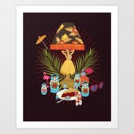 Nurture your inner geek 02 Art Print