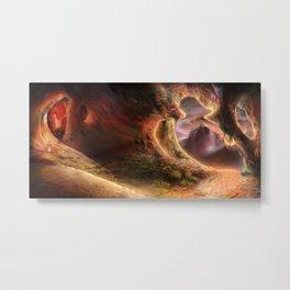 Cloudburst Cavern Metal Print