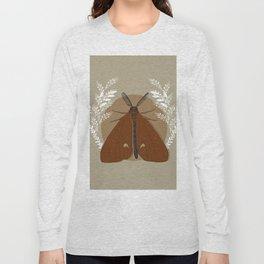 Red Moth Long Sleeve T-shirt