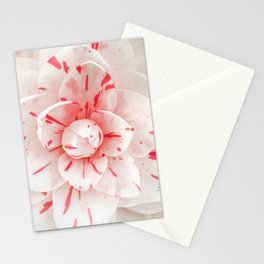 Red Flowers portrait  Stationery Cards