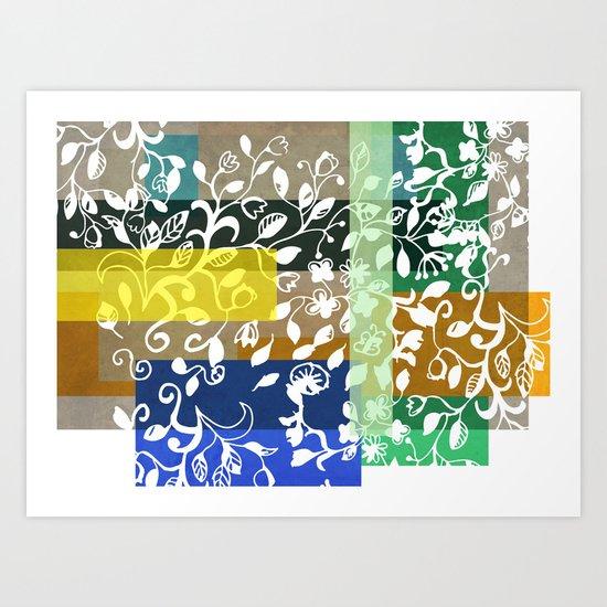 Unconventional lace Art Print