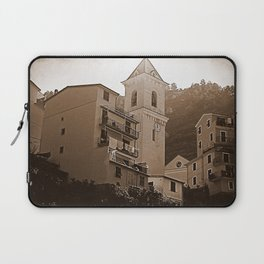 High Noon Riomaggiori Sepia Laptop Sleeve