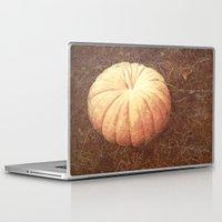 pumpkin Laptop & iPad Skins featuring Pumpkin by Yellowstone Photo Studio