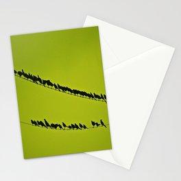 shoulder to shoulder Stationery Cards